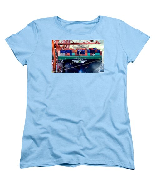 The Hyundai Faith Seattle Washington Women's T-Shirt (Standard Cut) by Michael Rogers