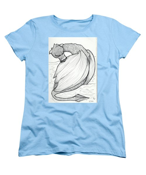 The Itch Women's T-Shirt (Standard Cut) by Loretta Nash