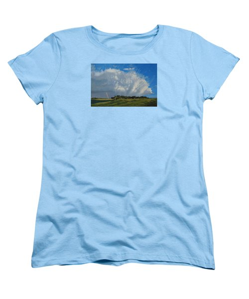 The June Rains Have Passed Women's T-Shirt (Standard Cut) by Bruce Morrison