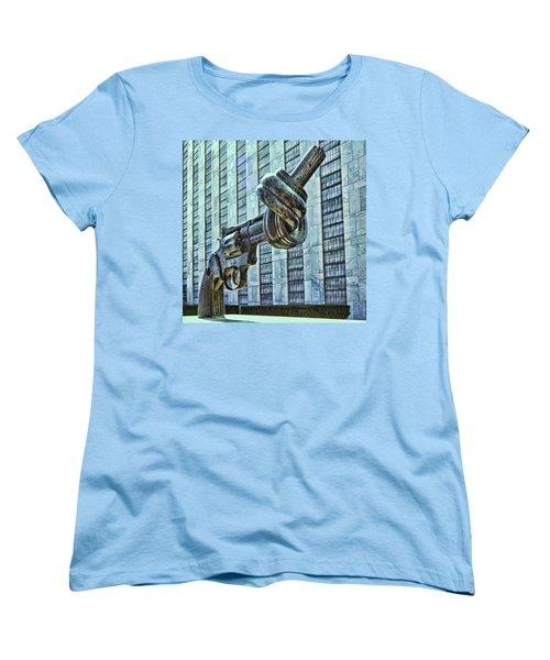 The Knotted Gun Women's T-Shirt (Standard Cut)