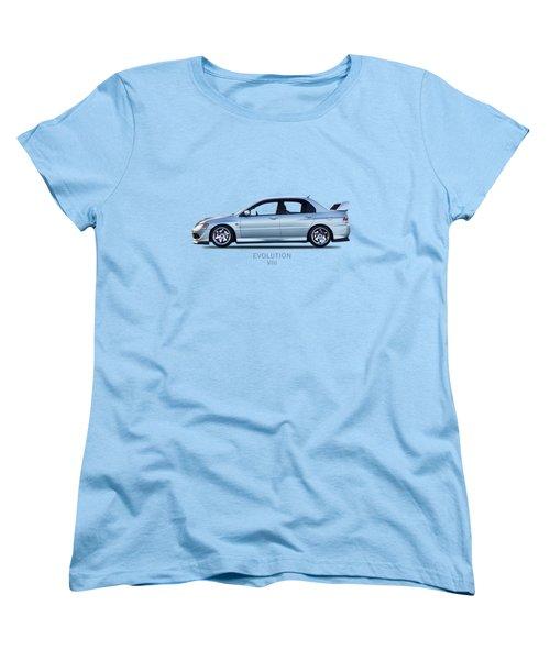 The Lancer Evolution Viii Women's T-Shirt (Standard Cut) by Mark Rogan