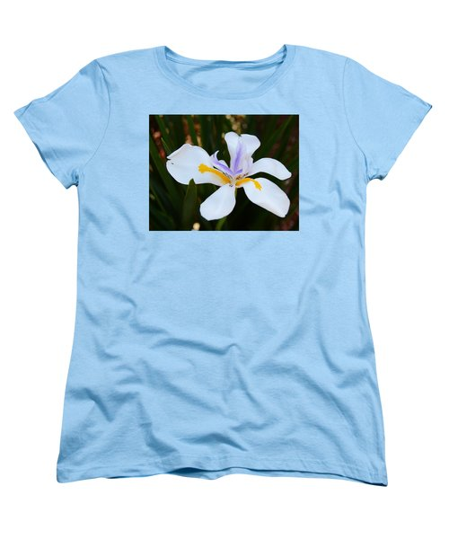 The Legacy African Iris Women's T-Shirt (Standard Cut) by Warren Thompson