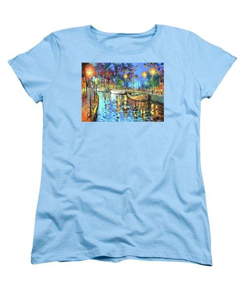 The Lights Of The Sleeping City Women's T-Shirt (Standard Cut)