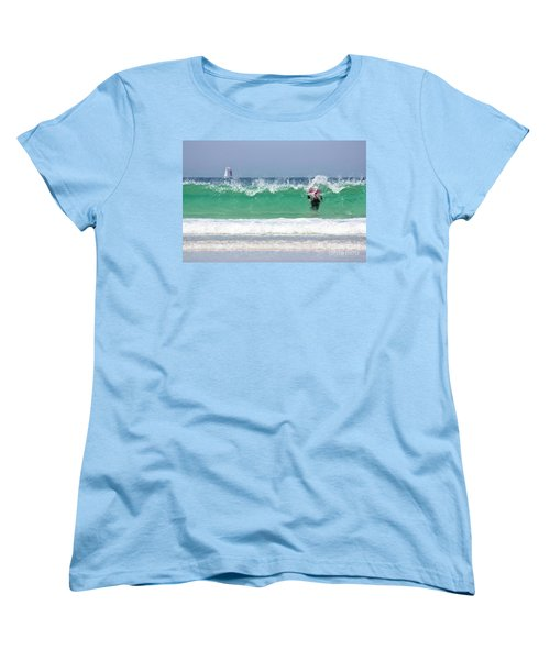 Women's T-Shirt (Standard Cut) featuring the photograph The Little Mermaid by Terri Waters