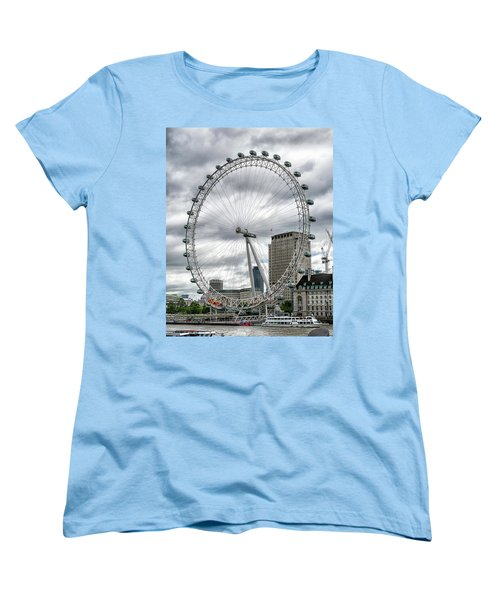 The London Eye Women's T-Shirt (Standard Cut) by Alan Toepfer
