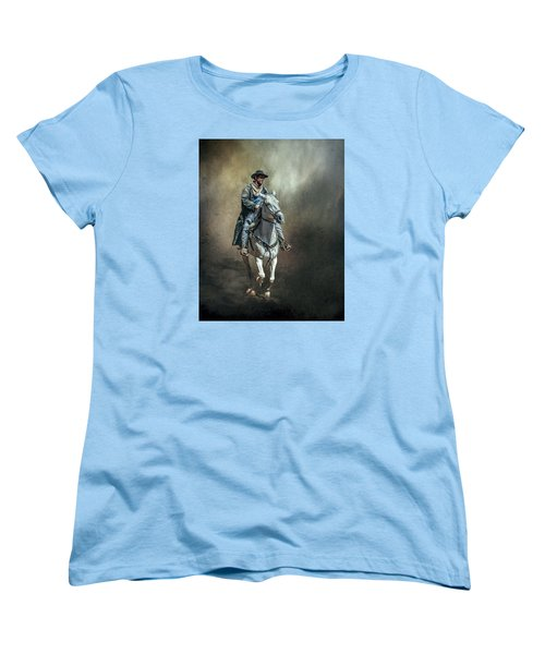 Women's T-Shirt (Standard Cut) featuring the photograph The Lone Drifter by Brian Tarr