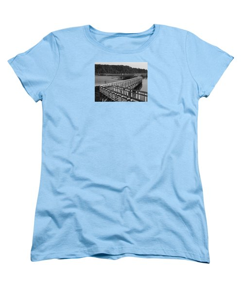 The Long Walk Women's T-Shirt (Standard Cut) by I'ina Van Lawick