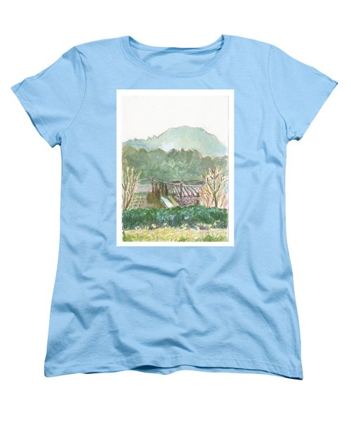 The Luberon Valley Women's T-Shirt (Standard Cut) by Tilly Strauss