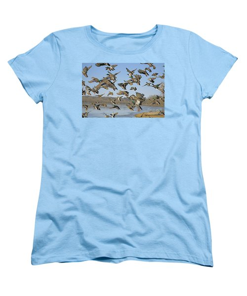 The Mad Rush Women's T-Shirt (Standard Cut) by Robert Pearson