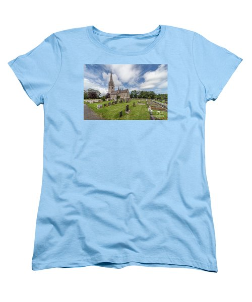 Women's T-Shirt (Standard Cut) featuring the photograph The Marble Church by Adrian Evans