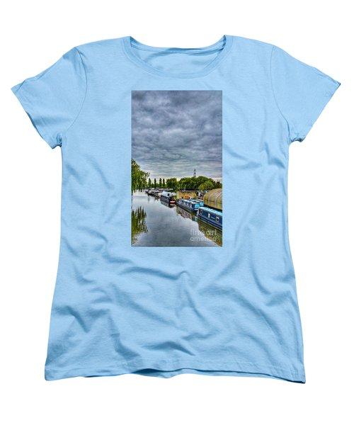 The Marina Women's T-Shirt (Standard Cut) by Isabella F Abbie Shores FRSA