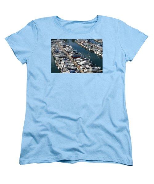 The Marina Women's T-Shirt (Standard Cut) by Renie Rutten