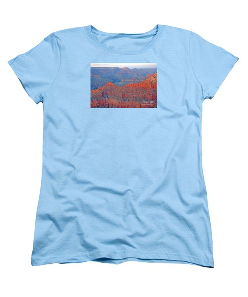 Women's T-Shirt (Standard Cut) featuring the photograph The Mighty Grand Canyon by Nick  Boren