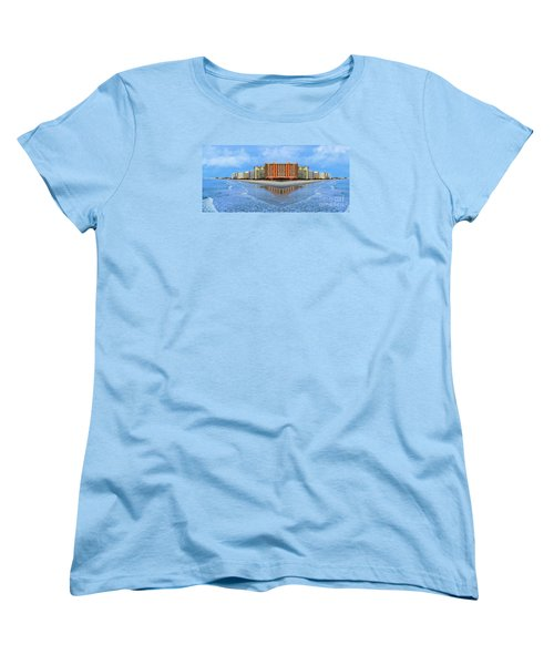 The Mirrors Of Your Mind Women's T-Shirt (Standard Cut) by Kathy Baccari