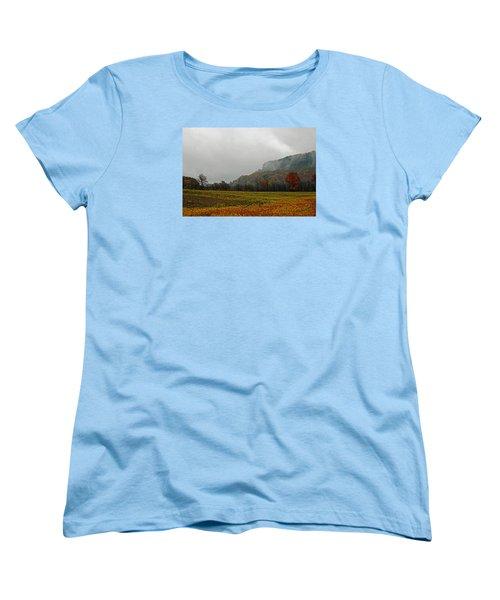 The Mist Women's T-Shirt (Standard Cut) by John Stuart Webbstock