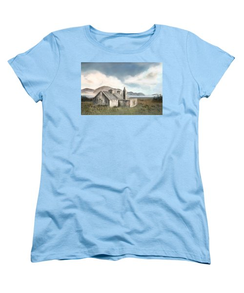 The Mist Of Moorland Women's T-Shirt (Standard Cut) by Colleen Taylor