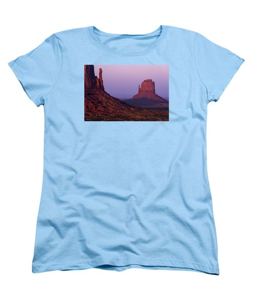 Women's T-Shirt (Standard Cut) featuring the photograph The Mittens by Chad Dutson