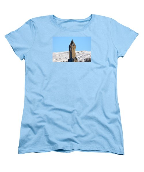 The National Wallace Monument Women's T-Shirt (Standard Cut) by RKAB Works
