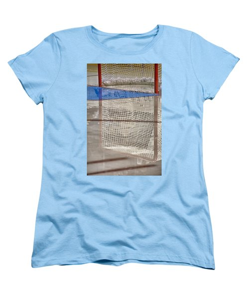The Net Reflection Women's T-Shirt (Standard Cut) by Karol Livote