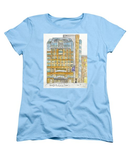The Nyu Kimmel Student Center Women's T-Shirt (Standard Cut) by AFineLyne