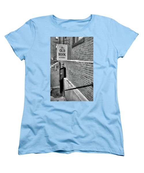Women's T-Shirt (Standard Cut) featuring the photograph The Old Book Store by Karol Livote