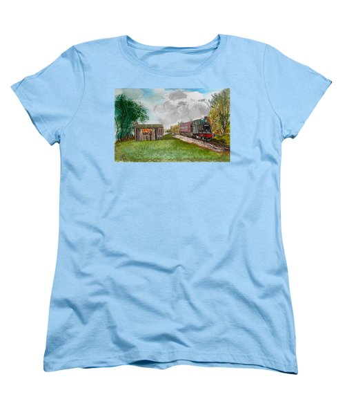 The Old Forsaken Shack Women's T-Shirt (Standard Cut) by Carole Robins