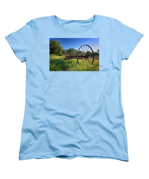 The Old Mower 2 Women's T-Shirt (Standard Cut) by Endre Balogh