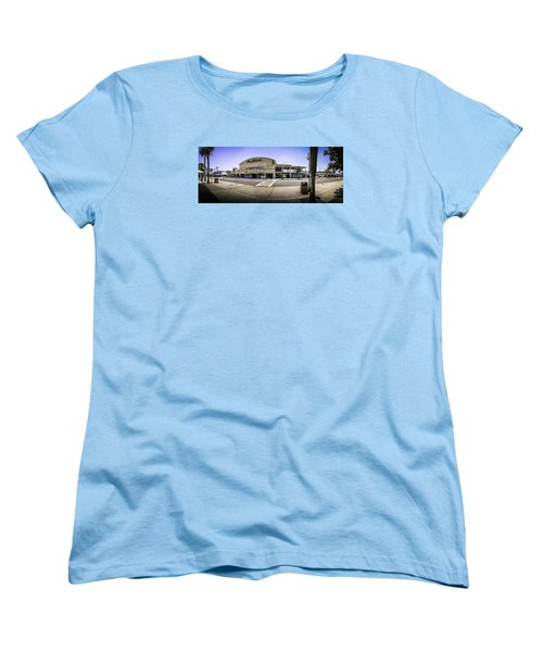 The Old Myrtle Beach Pavilion Women's T-Shirt (Standard Cut) by David Smith