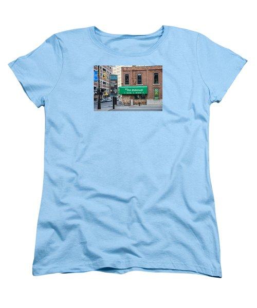 The Old Shillelagh Detroit  Women's T-Shirt (Standard Cut) by John McGraw