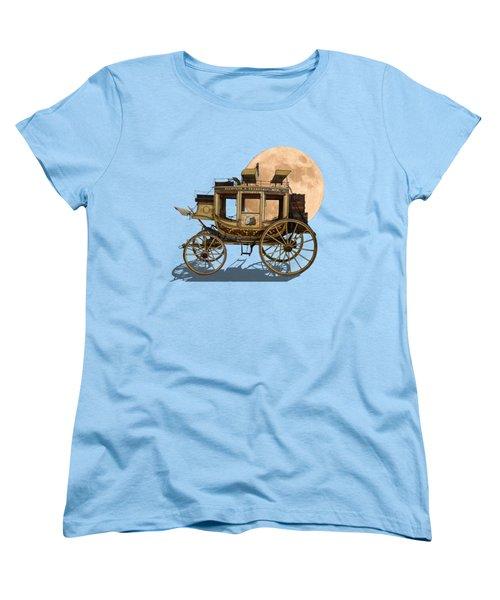 The Old Stage Coach Women's T-Shirt (Standard Cut) by John Haldane