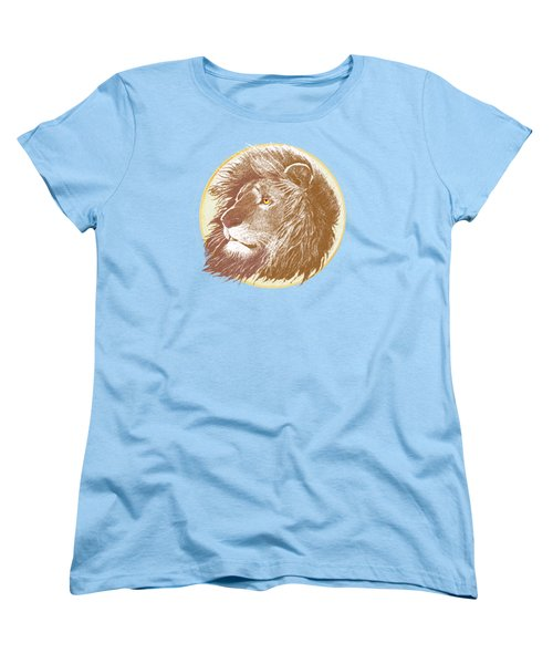 Women's T-Shirt (Standard Cut) featuring the mixed media The One True King by J L Meadows