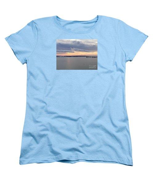 The Opalescent Sunrise Is Unfurled Women's T-Shirt (Standard Cut)