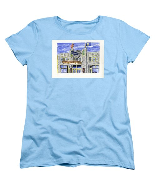 The Orpheum Women's T-Shirt (Standard Cut) by Rodger Ellingson