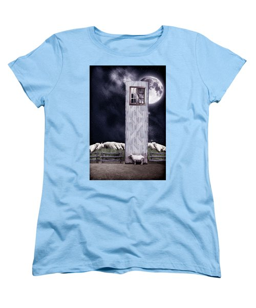 The Outsider Women's T-Shirt (Standard Cut) by Mihaela Pater