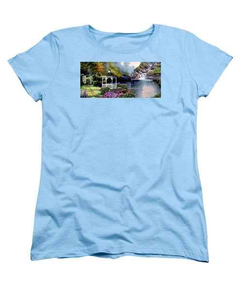 The Path Least Fallowed 2 Women's T-Shirt (Standard Cut) by Ron Chambers