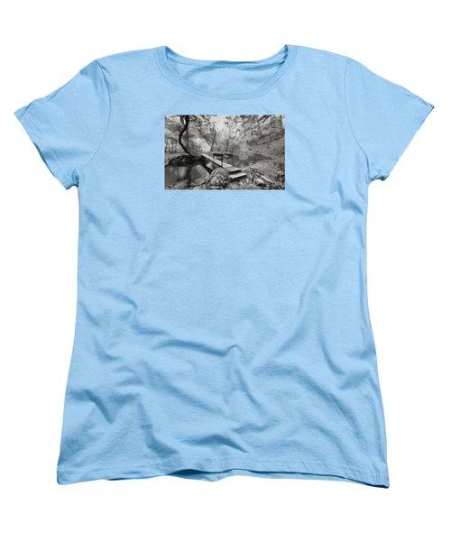 The Path To Nirvana Women's T-Shirt (Standard Cut) by Mario Carini
