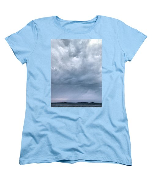 Women's T-Shirt (Standard Cut) featuring the photograph The Rising Storm by Jouko Lehto
