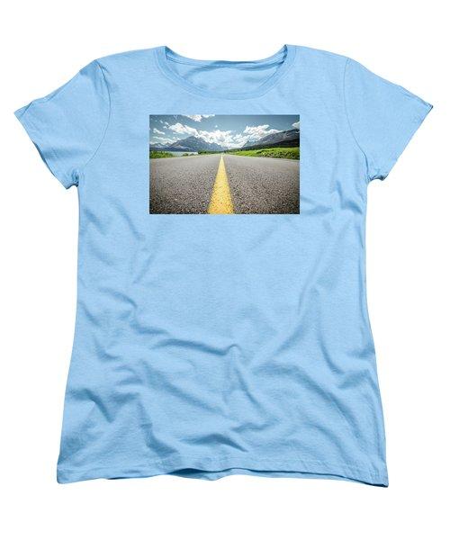 The Road To Glacier Women's T-Shirt (Standard Cut)