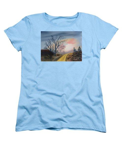 The Road To... Women's T-Shirt (Standard Cut) by Rod Jellison