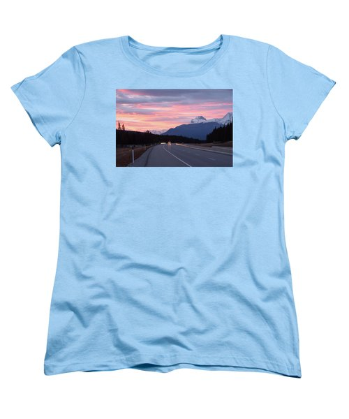 The Road Trip Women's T-Shirt (Standard Cut) by Keith Boone