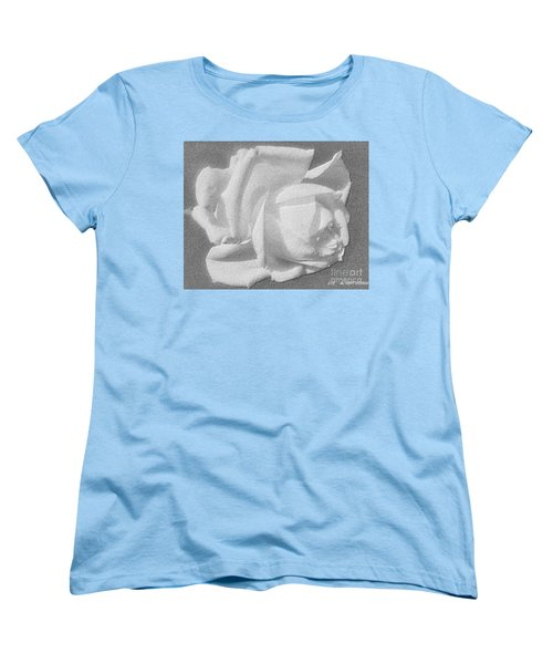 Women's T-Shirt (Standard Cut) featuring the digital art The Rose by Saribelle Rodriguez