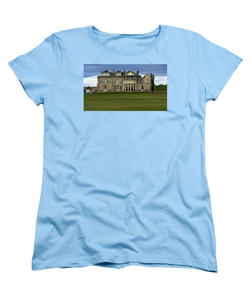 The Royal And Ancient St. Andrews Scotland Women's T-Shirt (Standard Cut) by Sally Ross