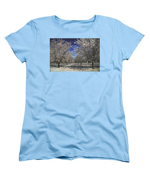 Women's T-Shirt (Standard Cut) featuring the photograph The Season Of Us by Laurie Search