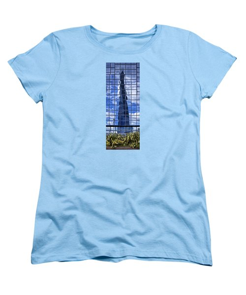 Women's T-Shirt (Standard Cut) featuring the photograph The Shard by Shirley Mitchell