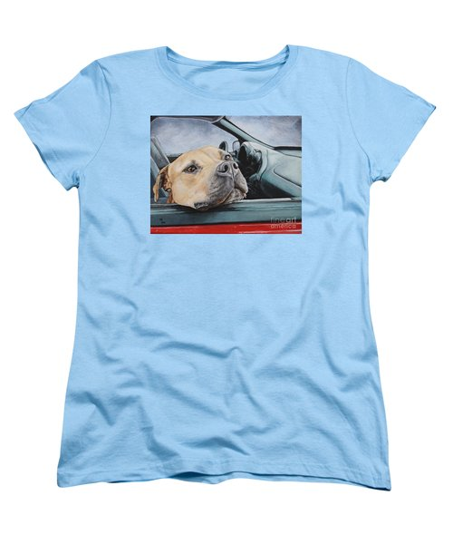 The Smell Of Freedom Women's T-Shirt (Standard Cut) by Mary-Lee Sanders
