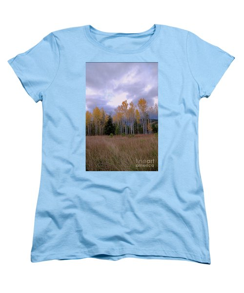 The  Song Of The Aspens 2 Women's T-Shirt (Standard Cut) by Victor K