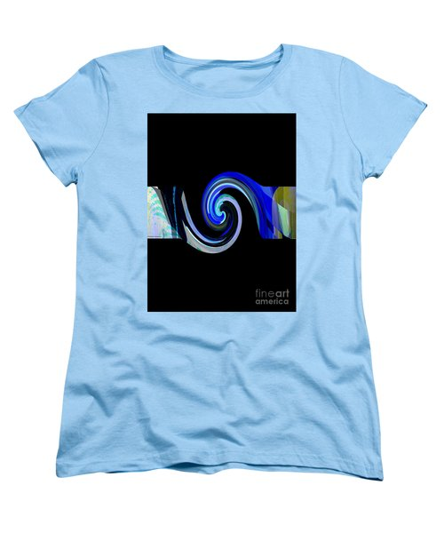 The Spiral Women's T-Shirt (Standard Cut) by Thibault Toussaint