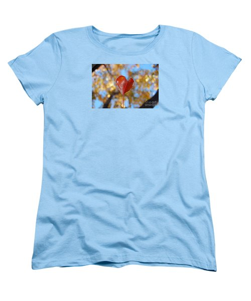 Women's T-Shirt (Standard Cut) featuring the photograph The Splendor Of Fall by Debra Thompson