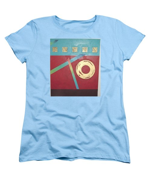The Square Wheels Of Progress Women's T-Shirt (Standard Cut) by Bernard Goodman