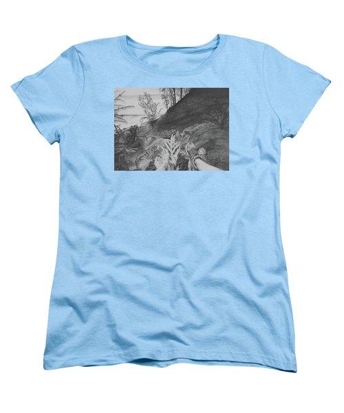 The Summit Women's T-Shirt (Standard Cut) by Jane Autry